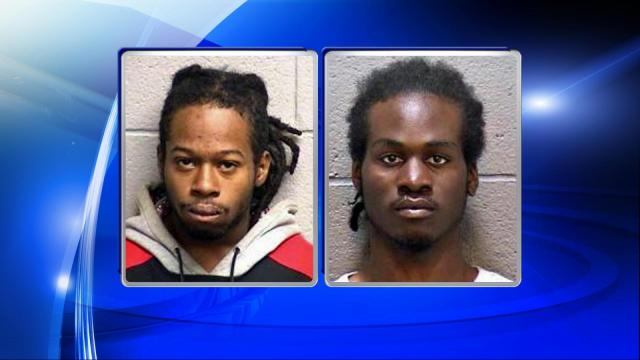 Police said Dominique La'Ron Percell, 20, and Anthony Dashaun Terry, 21, both of Durham, have been charged with murder and felony conspiracy in connection with the case.