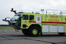 A training exercise on Thursday at the Fayetteville Regional Airport prepared responders for a disaster on the runway.