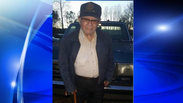 This 95-year-old man went missing Wednesday.