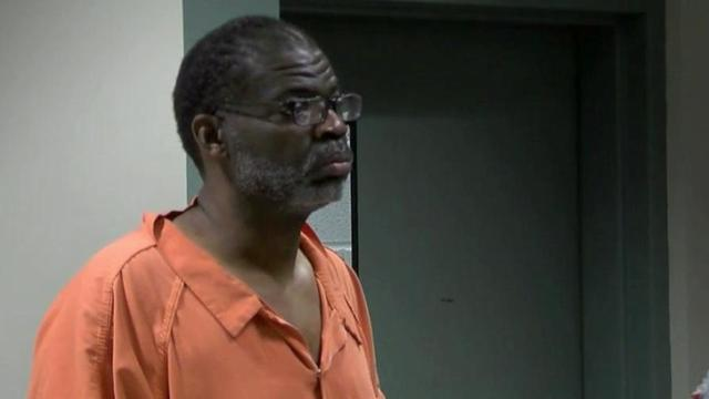 Rodney Scott appears in a Cumberland County courtroom on May 2, 2016, on charges that he sexually abused a 14-year-old boy.