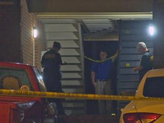 A man with life-threatening injuries was sent to the hospital early Tuesday morning after being shot at a Fayetteville residence.