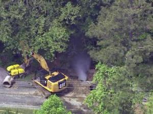 Gas leak closes road in Zebulon; no evacuations reported