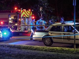 Two men were injured Wednesday night after a shooting on Swain Street in Raleigh.