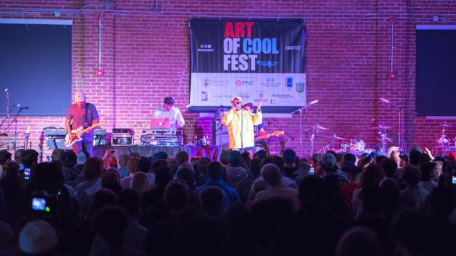 Anderson Paak & The Free Nationals perform at the Armory for Art of Cool Festival Friday night. Photos by: Carlton Bassett