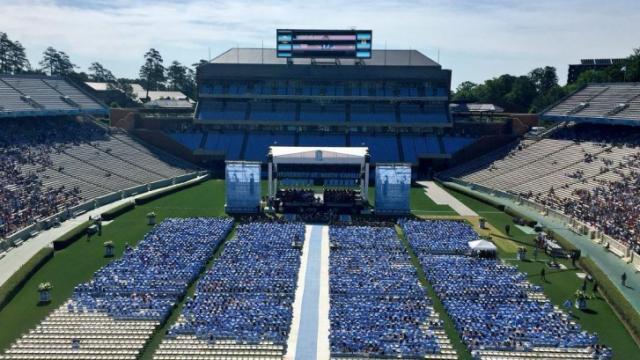 UNC graduation 2016