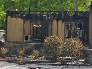 Twenty-five dogs died Monday morning when fire tore through Lynaire Kennels and Crematory in Craven County, according to WITN.