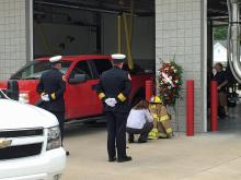 Kenly firefighters remember volunteer who died Saturday