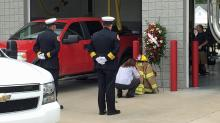 Firefighters mourn loss of volunteer