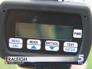 Dozens of speeding tickets issued by Raleigh police might be thrown out of court because of an issue with the radar guns used to clock drivers' speed, officials said Monday.