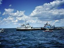 Sunken tugboats buoy hopes for new Atlantic reef