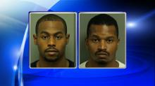 IMAGES: Raleigh police investigate robbery; suspects caught in jump-and-run