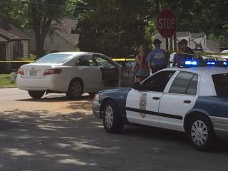 A 19-year-old man was hit by a vehicle Friday afternoon while crossing Pecan Road, near South Wilmington Street, in Raleigh, police said.
