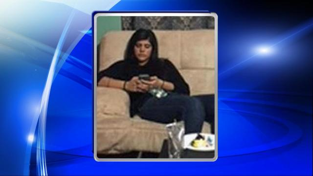 Police said Jennifer Segura Castillejos was last seen in the area of Barclay Road and was wearing a navy blue sweater, black leggings and white shoes.