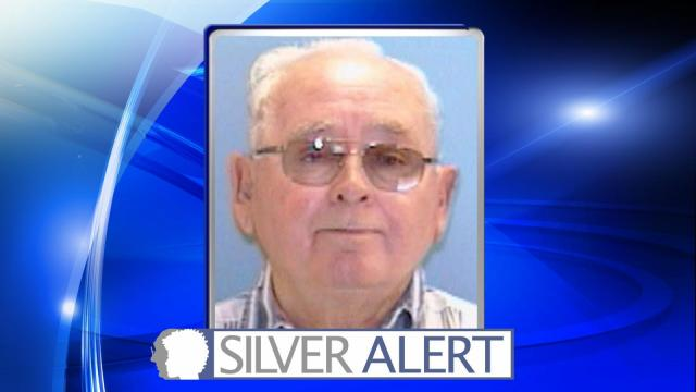 Person County authorities were searching Tuesday for a missing 77-year-old man who is believed to be cognitively impaired.