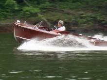 Raleigh man restores 1952 boat