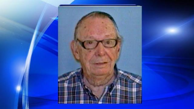 Authorities are searching for a 96-year-old man named Robert Alfred Hebert.