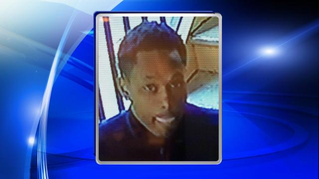Raleigh police are seeking public assistance in locating a man wanted in connection with an April robbery.