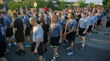 IMAGES: 15,000 soldiers partake in celebratory run at Fort Bragg