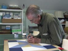 Chore became mission for barn quilt designer
