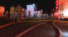 IMAGES: Fire damages 100-year-old Kenly church