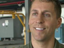 RAW: Coast Guard pilots rescue 4 Navy aviators