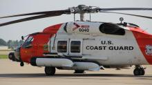 IMAGES: Coast Guard, fishing crew rescue 4 following 'in-air mishap' off NC coast