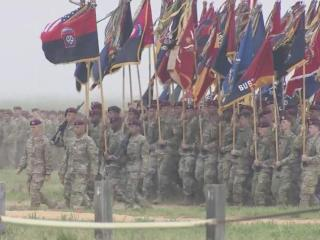 All-American Week ended Thursday with a massive jump at Fort Bragg. People traveled from near and far to watch the 82nd Airborne Division put on a show at Sicily Drop Zone.