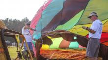 IMAGES: Balloon fest organizer 'humbled' by volunteer efforts