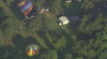 SKY 5: Balloons take off, land on second day of Balloon Fest