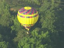 Balloons launch during cooperative Saturday weather