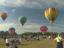 Clear skies make way for ideal balloon ride