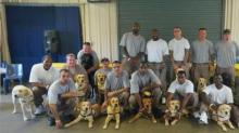 In pilot program, Franklin County inmates give back by training service dogs
