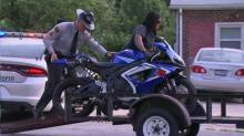 IMAGE: Man charged after 125 mph Raleigh motorcycle chase