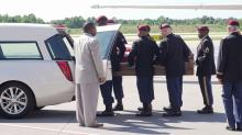 Hoke County soldier's remains returned to North Carolina