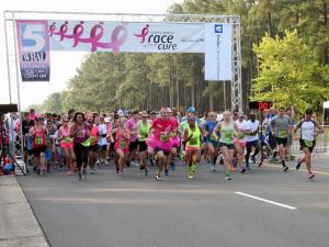 More than 8,000 people registered to participate in the Komen Triangle 2016 Race for the Cure