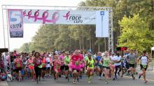 IMAGES: Thousands participate in Triangle Race for the Cure