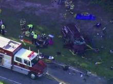 Adult, child killed in Wake Forest crash