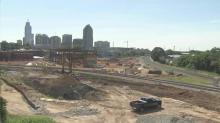 IMAGES: Raleigh crews continue work on Amtrack, GoRaleigh transit stations
