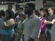Pain of Orlando shooting still raw at UNC vigil