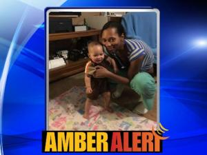 An Amber Alert was issued Thursday afternoon for a missing 8-month-old Randolph County boy.