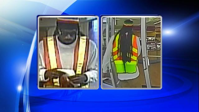 Raleigh police: Man who robbed BB&T could have been wearing wig