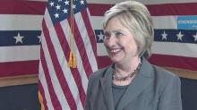 On the Record Extra: One on one with Hillary Clinton