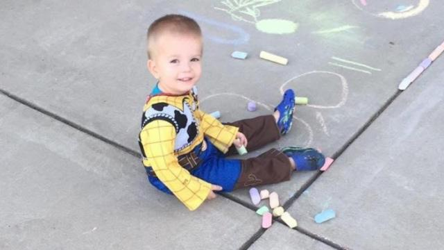 A GoFundMe page for Landon Adams, who was just shy of his third birthday, said he died Friday.