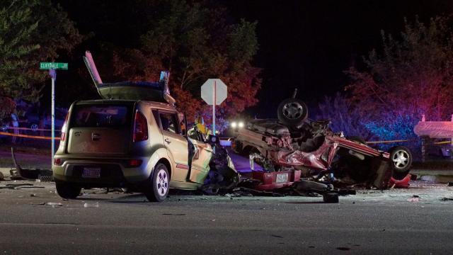 5 killed in Fayetteville crash