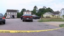 IMAGES: Man shot to death in Clayton home