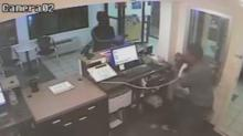 IMAGES: Fayetteville police searching for motel armed robbery suspect