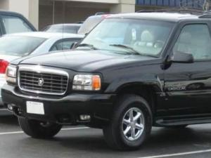 Police believe the suspect may be driving a vehicle similar to the black SUV depicted.
