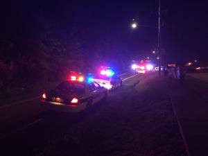 Four people were being questioned Wednesday night after a shot was fired inside Wheels Fun Park in Durham.
