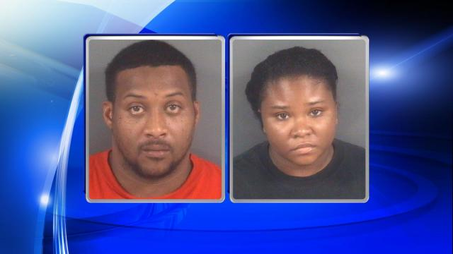 Jimmy Tyrone Baldwin, 48, and Chaka Demarra Baldwin, 25, are each charged with felony child abuse inflicting serious bodily injury.