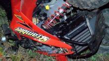 IMAGES: 1 dead, 1 injured after head-on ATV crash in Wayne County